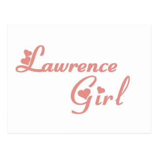Lawrence Girl tee shirts Postcard