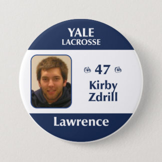Lawrence - Kirby Zdrill 7.5 Cm Round Badge