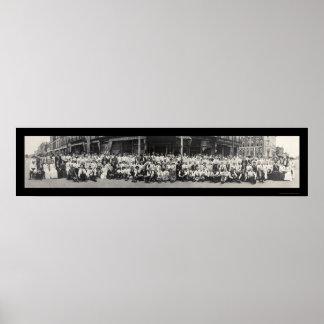 Lawrence KS Massacre Photo 1913 Poster