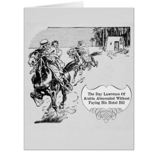 Lawrence Of Arabia - Large Greeting Card