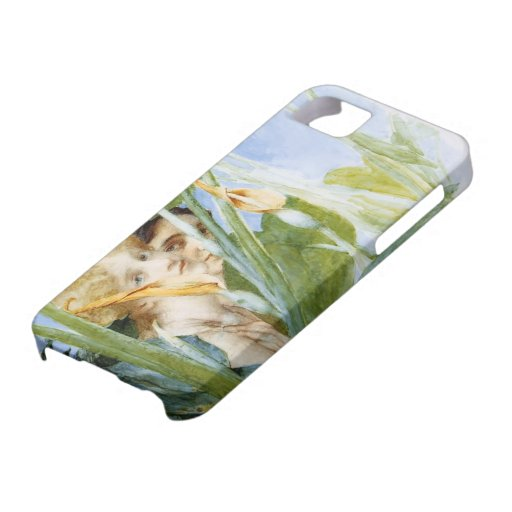 Lawrence Tadema: In Beauty s Bloom (unfinished) Case For iPhone 5/5S