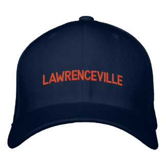 Lawrenceville Old Fashioned Ballcap Embroidered Hat
