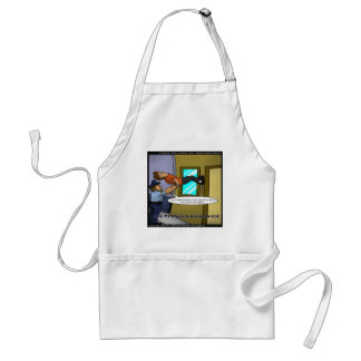 Laws Of Physics & Gravity Funny Gifts & Tees Standard Apron