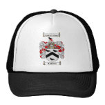 LAWSON FAMILY CREST -  LAWSON COAT OF ARMS TRUCKER HAT