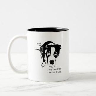 Lawsuit Two-Tone Coffee Mug
