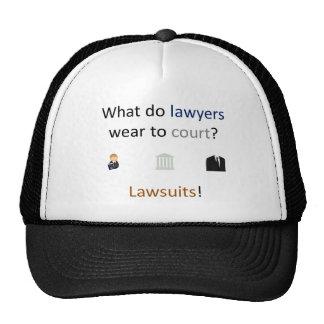 Lawsuits Joke Cap