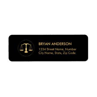 Lawyer Attorney Address Label