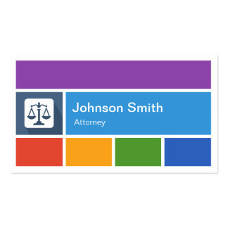 Lawyer Attorney - Creative Modern Metro Style Business Cards
