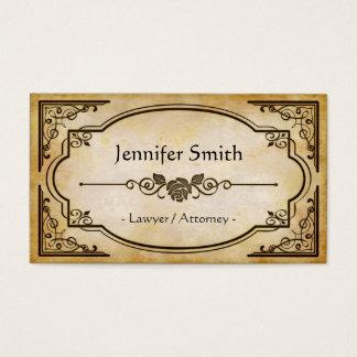 Lawyer / Attorney - Elegant Vintage Antique