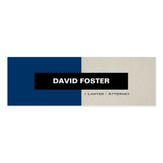Lawyer / Attorney - Simple Elegant Stylish Business Cards