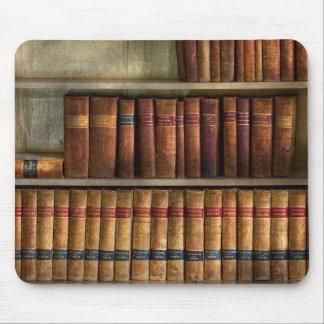 Lawyer - Books - Law books Mousepad