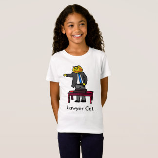 Lawyer Cat T-Shirt