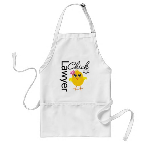 Lawyer Chick Aprons