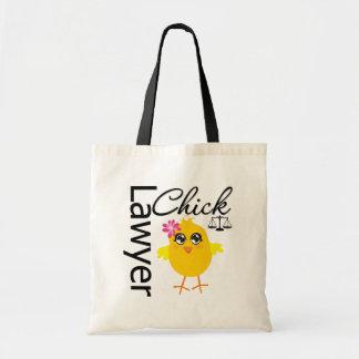 Lawyer Chick Budget Tote Bag