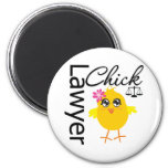Lawyer Chick Fridge Magnets