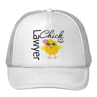 Lawyer Chick Mesh Hat
