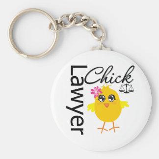 Lawyer Chick Keychain