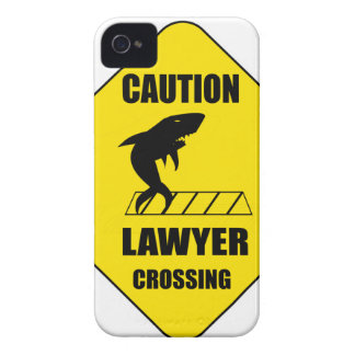 Lawyer Crossing with Shark iPhone 4 Case-Mate Cases