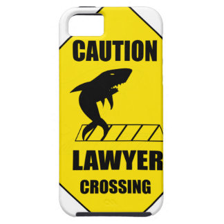 Lawyer Crossing with Shark iPhone 5 Case