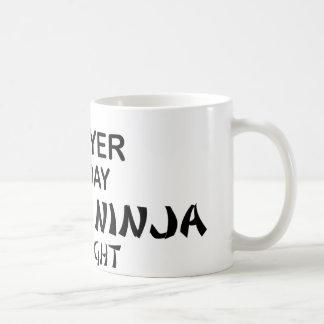 Lawyer Deadly Ninja by Night Basic White Mug
