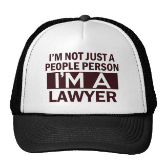 lawyer design cap