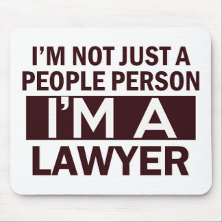 lawyer design mouse pads