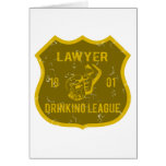 Lawyer Drinking League Cards