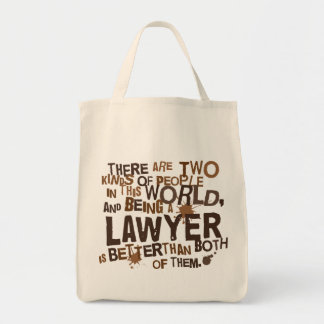 Lawyer Gift Grocery Tote Bag