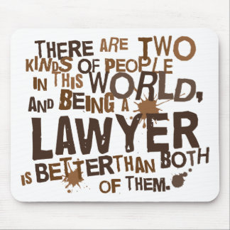 Lawyer Gift Mouse Pad