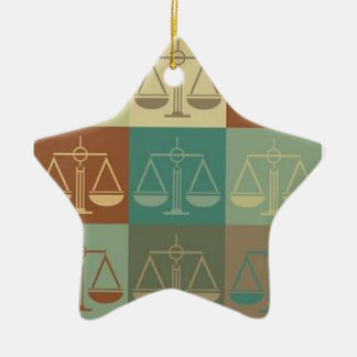 Lawyer Holiday Ornament