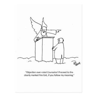 "Lawyer Humor Postcard ""Percenters"""