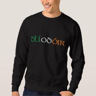 """""""Lawyer"""" In Gaelic & Irish Flag Colors Embroidered Sweatshirt"""
