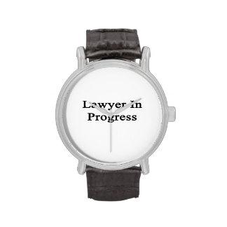 Lawyer In Progress Wrist Watch