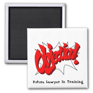 Lawyer In Training - Square Magnet