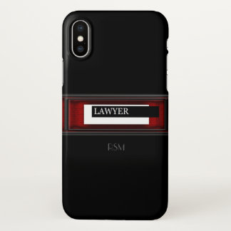 Lawyer iPhone X Case