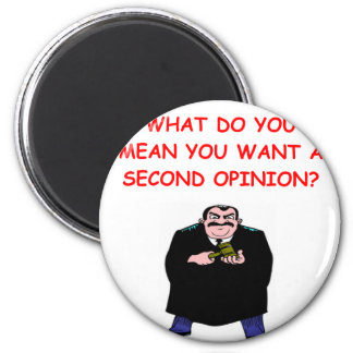 lawyer joke gifts and t-shirts 6 cm round magnet
