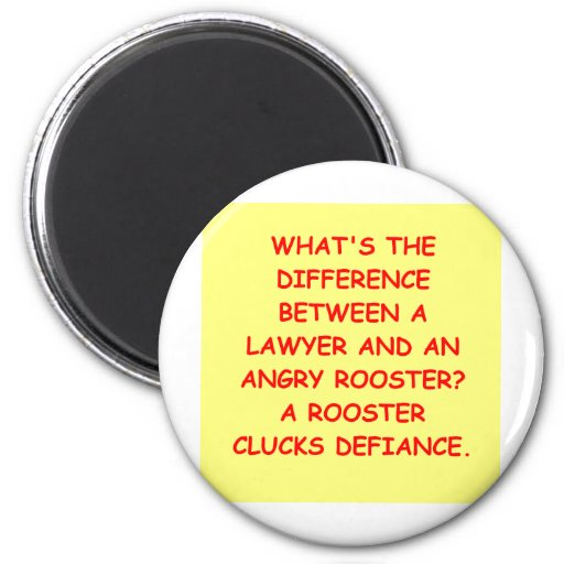 lawyer joke gifts and t-shirts refrigerator magnets