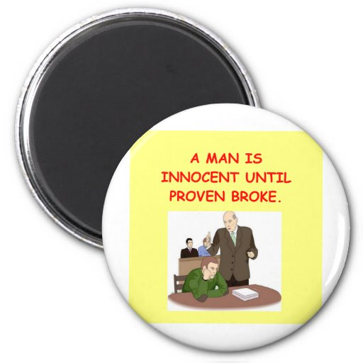 lawyer joke gifts and t-shirts magnets