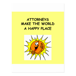 lawyer joke gifts and t-shirts postcard