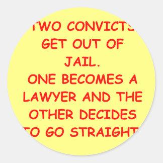 lawyer joke gifts and t-shirts stickers