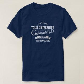 Lawyer Law School Graduate Graduation T-Shirt