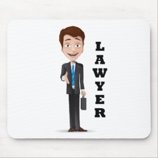 """""""Lawyer"""" Mouse Pad"""