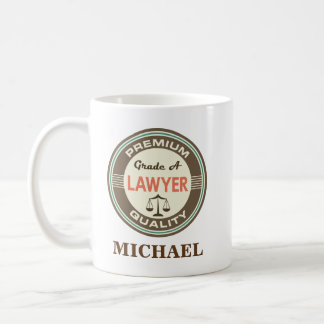 Lawyer Personalized Office Mug Gift