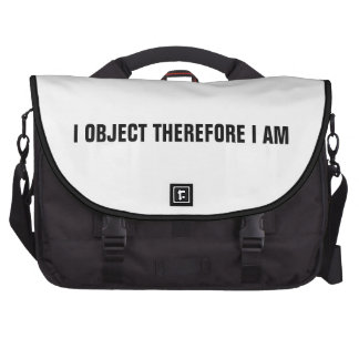 Lawyer Rickshaw Commuter Bag: I object therefore..