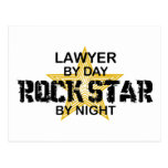 Lawyer Rock Star by Night Post Cards