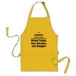 lawyer standard apron