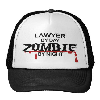 Lawyer Zombie Trucker Hat