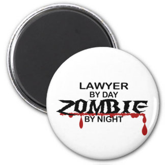 Lawyer Zombie Magnets