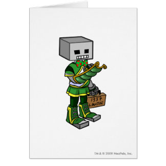 Lawyerbot Brightvale Staff Player Greeting Card