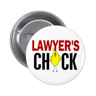 Lawyer's Chick Pinback Button